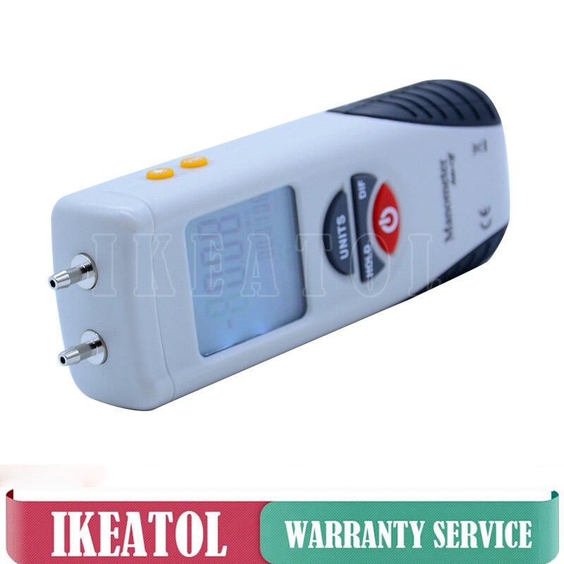 HT-1895 Portable LCD Digital Manometer Pressure Gauge Air Pressure Meter 517.1KPA цена