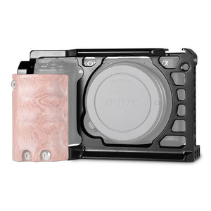 Image 4 - SmallRig Für Sony A6500/A6300 Kamera Käfig Verbesserte Version Schutzhülle Dslr Kamera Rig Für Sony A6500 Aluminium Legierung Käfig  1889