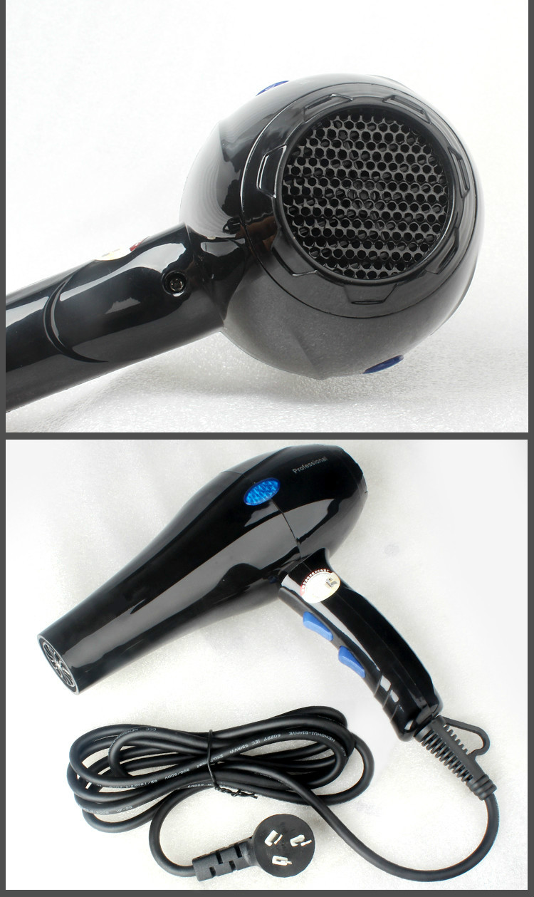 все цены на Hair Dryers High power electric hair dryer does not hurt salon home hot and cold wind student dormitory special blue light NEW онлайн