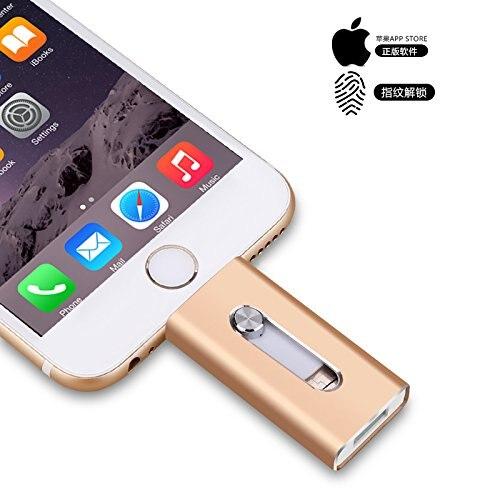 Usb Flash Drive IPhone Flash Drive Memory Stick 3-in-1 Lightning OTG Memoria USB Flash 3.0 Encrypted Pen Drive 256GB Usb Key
