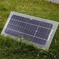 18V 5.5W Smart Solar Power Panel Car RV Boat Battery Bank Charger with USB Cable