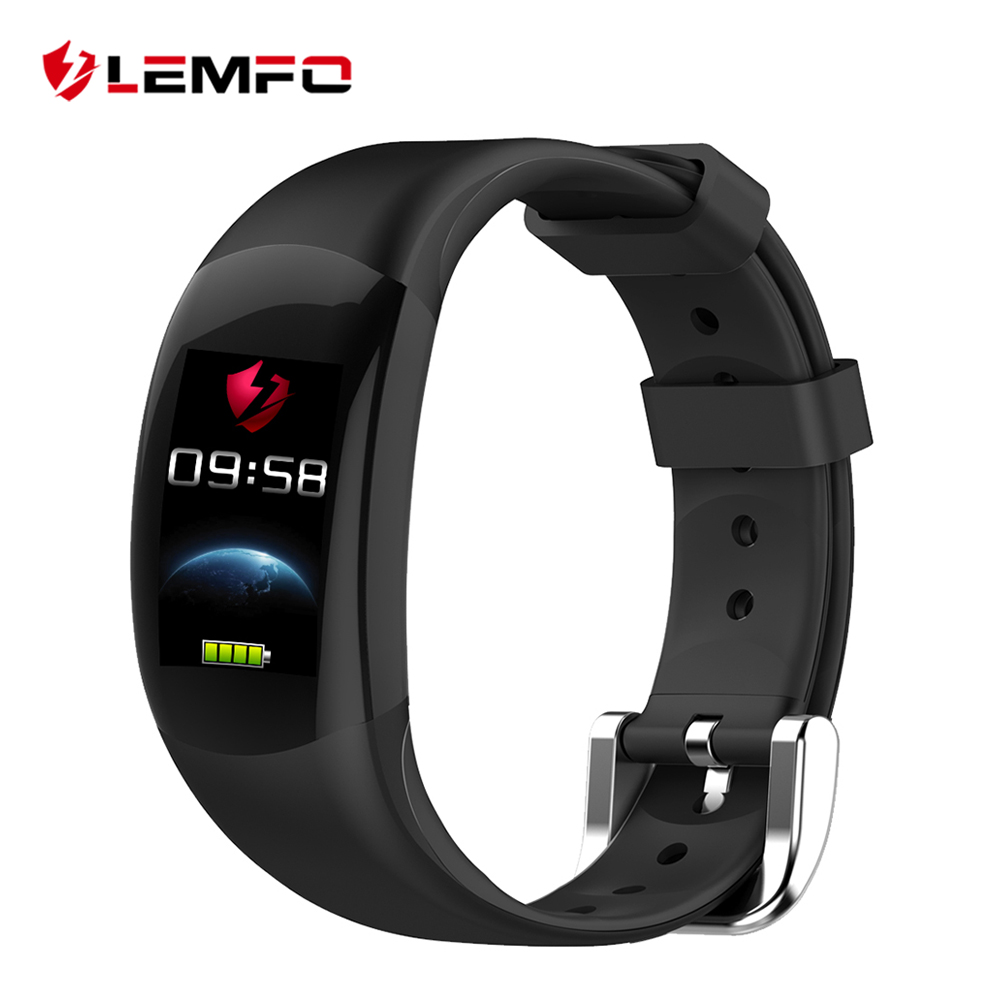 LEMFO LT02 Smart Band 2 IP68 Waterproof Bluetooth Fitness Bracelet Charm Men Women Bracelet Watches For Xiaomi Mi Wrist Band