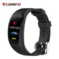 LEMFO LT02 Smart Band 2 IP68 Waterproof Bluetooth Fitness Bracelet Charm Men Women Bracelet Watches For