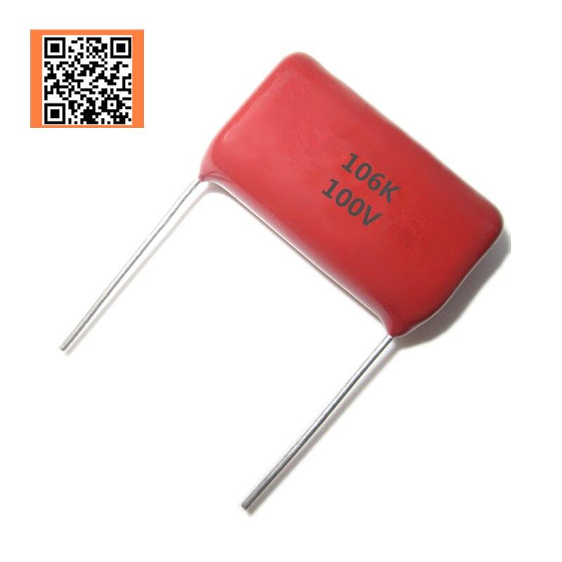 CBB 100v 10uf 106k 106 100v 10% DIP CBB Polypropylene Film Capacitor