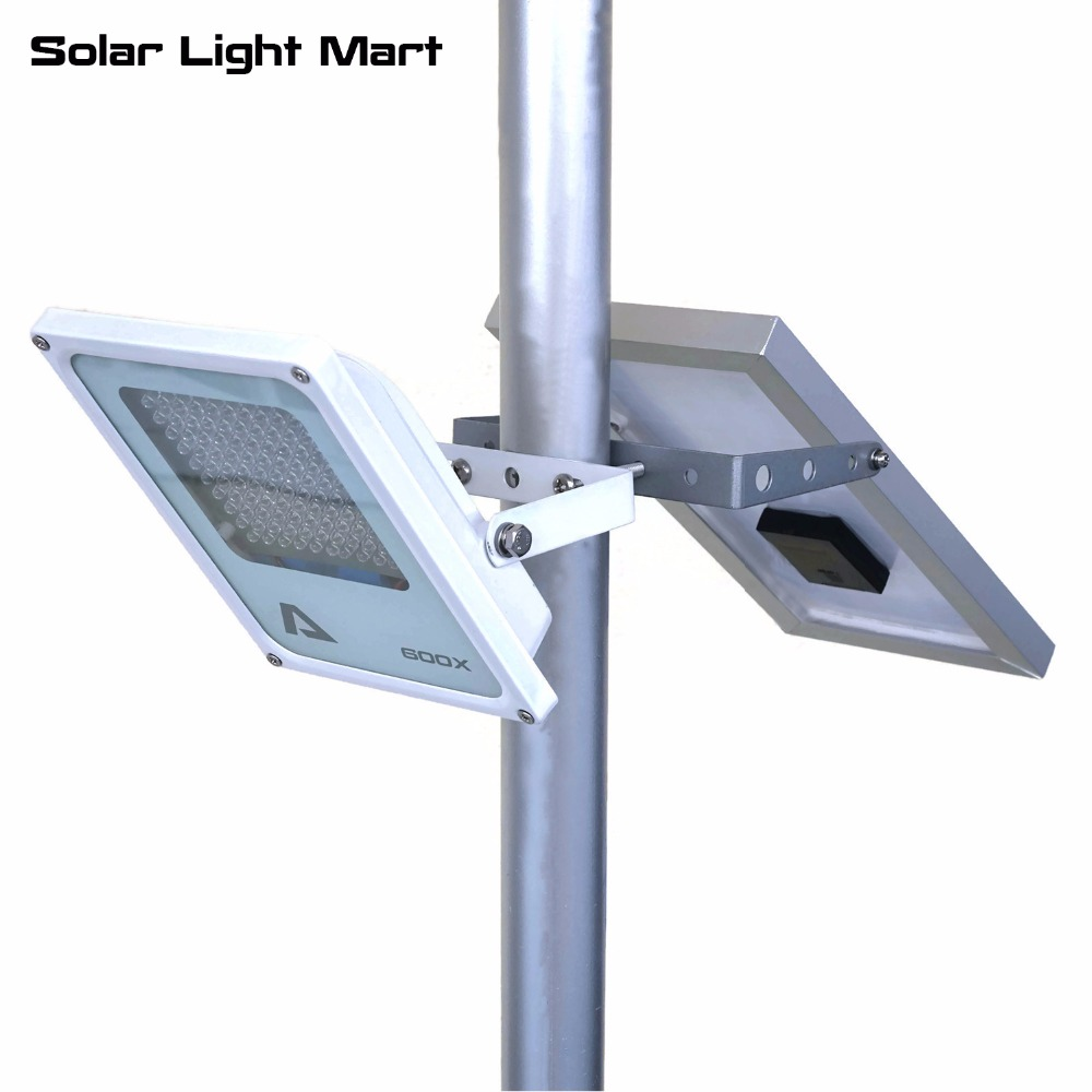 Mini Alpha 600x Outdoor Waterproof 3 Modes 5m Cable Automatic Solar Ed Led Pole Light