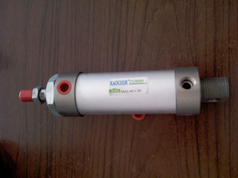 Airtac type MAL mini aluminium pneumatic cylinders MAL32X125 network access control staff attendance management system