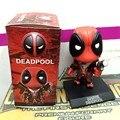 """Brinquedos do bebê Q Versão X-men agite Boneca Deadpool Deadpool Figura PVC Action Figure Presente Do menino Crianças Toy Collectible 5 """"13 cm"""