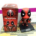 """Juguetes del bebé Q Versión x-men Deadpool Deadpool Figura PVC sacudir la Muñeca Figura de Acción de Regalo del muchacho Los Niños de Juguete de Colección 5 """"13 cm"""