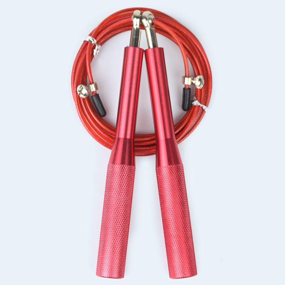Adjustable Skipping Rope with Aluminum Handles for Speed Jump Used as Gym/Fitness Equipment 19