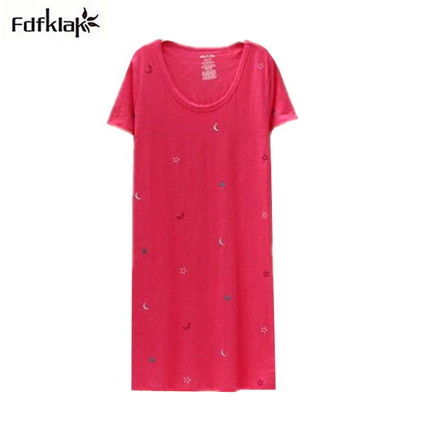 Real Picture, Women   Nightgowns   Cute Cotton Nightdress Plus Size Womens   Nightgown   Sleep Wear Ladies Casual   Sleepshirt   Q1054