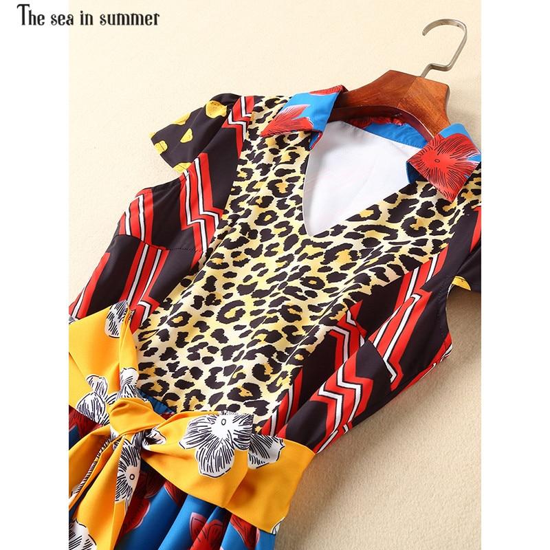La Rétro Fashion2019 D'été Mer Été Courtes Maxi À Manches De Longue Ethnique Vacances Robe En Imprimé Bohème Femmes Multi Vintage rwTt4cxqrI