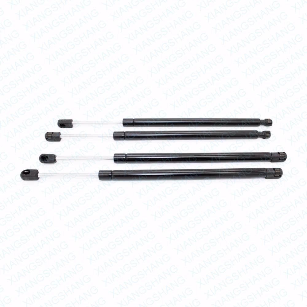 For Hyundai Santa Fe 2001-2006 Auto Rear Window & Front Hood Gas Charged Spring Struts Lift Supports Damper Shock Strut Arm 2qty front hood lift support strut spring rod for mercedes benz cls500 cls55