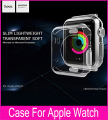 Hoco Soft TPU Transparent Case For Apple Watch 38mm 42mm Ultra Thin Clear Protective Cover With beautiful Retail Package