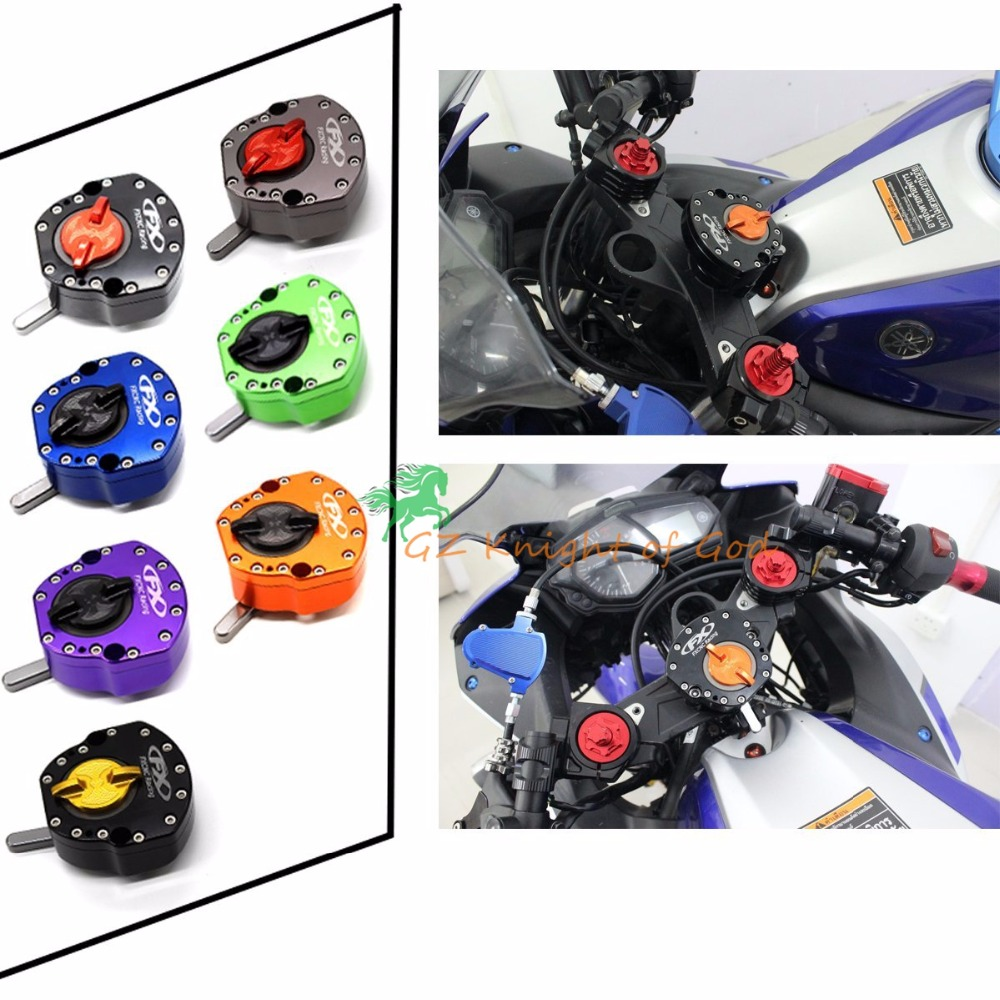 Рулевой демпфер Стабилизатор Линейный контроль безопасности, пригодный для BMW S1000RR 2009-2013,2003-2012 Хонда CBR600RR,Кавасаки ZX-6р 2007-2012