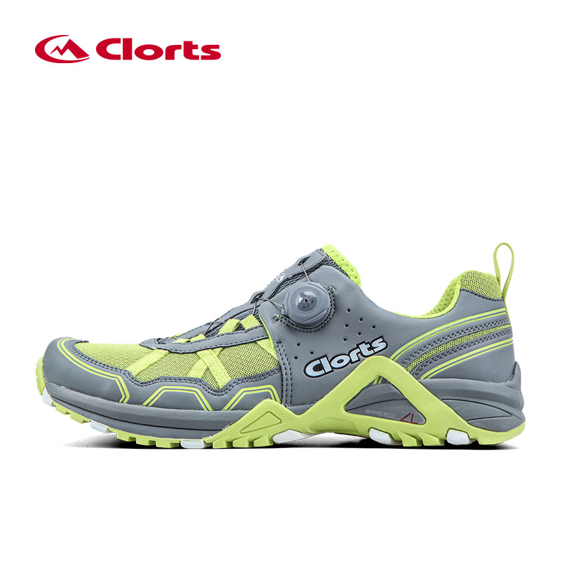 ФОТО 2016 Clorts Men Running Shoes 3F013B/D BOA Lacing System Outdoor Shoes Lightweight Running Sneakers for Men