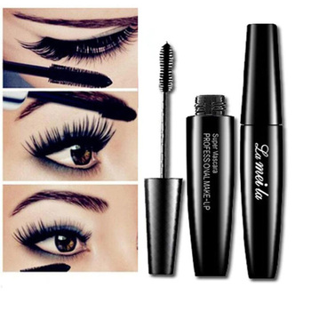 Fashion Makeup Volume Mascara Black Waterproof Smudge-proof Curling Lashes Thick Eye Eyelashes Beauty Essential Goods for Ladies Beauty Essentials