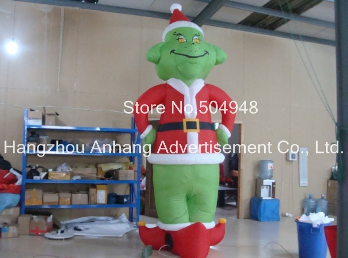 Christms Decoration Inflatable Clown inflatable blue tropical clown fish balloon decoration