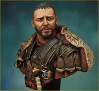 1/10 Resin bust figure model kit Movie role war Rome general Unpainted X06