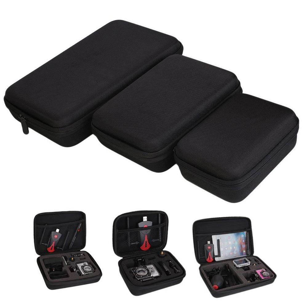 2017 Portable Travel shockproof Storage EVA Case Protective Bag Box empty camera bag for Gopro Hero 1 2 3 3+ 4 Cam & Accessory