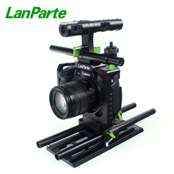 Lanparte Quick Release GH5s GH5 Camera Cage Kit Rig for Panasonic