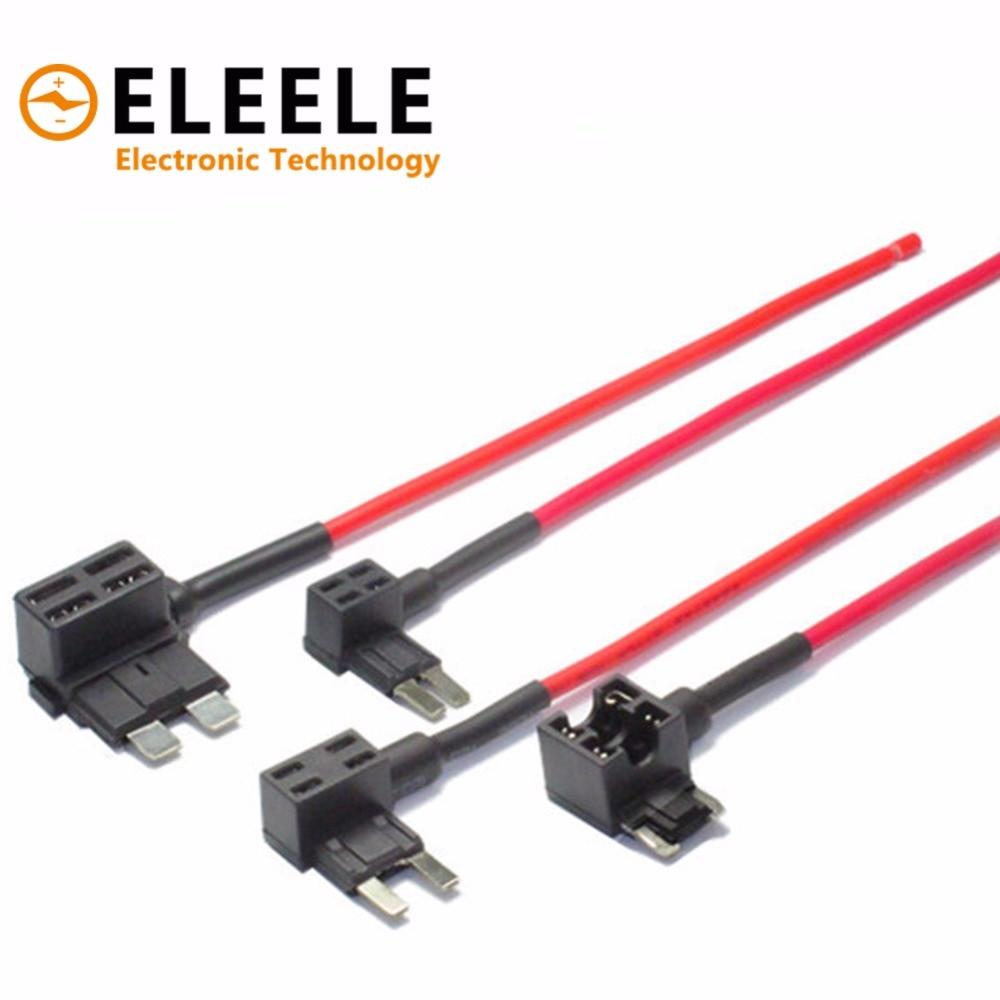 12v Fuse Holder Add A Circuit Tap Adapter Micro Mini Standard Automotive Box