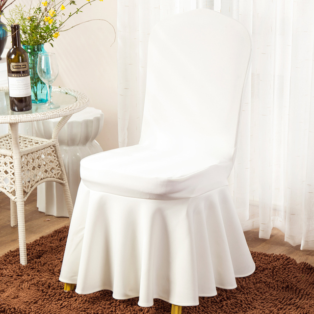 Hot Thickening Spandex Chair Covers For Weddings Decoration Party Dining Home