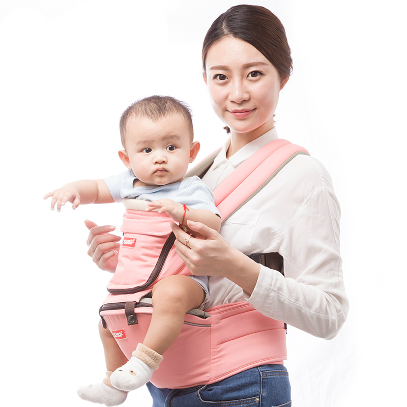 Best Selling Soft Baby Belt Backpack Breathable Baby Hipseat Belt Infant Carrier Double Shoulder Strap Baby Waist Stool Sling baby carrier new design kids waist stool walkers baby sling hold waist belt backpack hipseat belt kids infant hip seat zl438