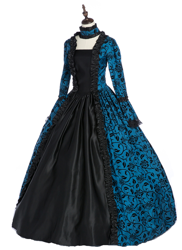Gothic Victorian Dress for  Womenss