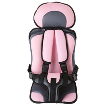 Adjustable Baby Safe Seat For 2-12 Years Old Baby, Toddler Booster Seat,Child Safety Mat Portable Chair Seats