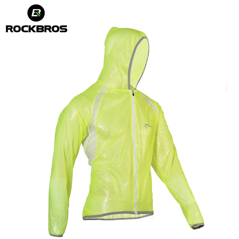 ROCKBROS Waterproof Hiking Jackets TPU Raincoat Cycling Bike Bicycle Jacket Sun-protect Camping Running Fishing Jackets Jersreys Куртка