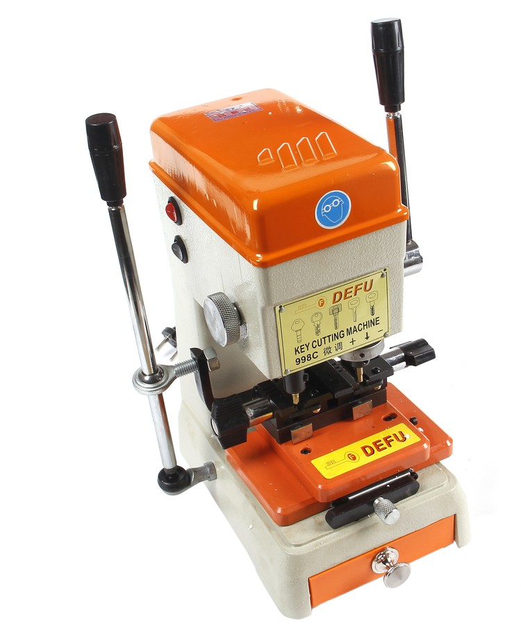 998c Best DEFU Key Cutting Machine Cutter Locksmith Tools