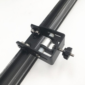 Image 1 - Creality CR 10 S4/S5 3D プリンタ y 軸テンショナーキット鋼黒色 Y 軸タイミングベルトテンショナー送料無料