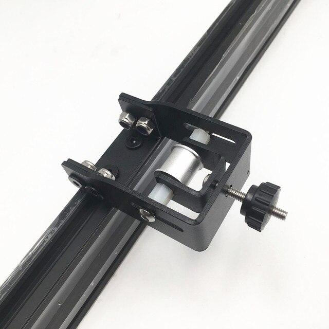 Creality CR 10 S4/S5 3D プリンタ y 軸テンショナーキット鋼黒色 Y 軸タイミングベルトテンショナー送料無料