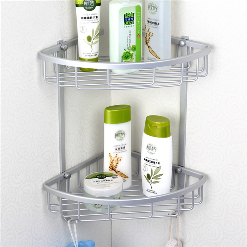 Online get cheap shower accessories shelves aliexpress for Rack for bathroom accessories