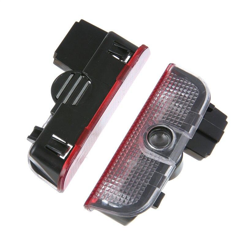 2pcs For Skoda Superb 2009 2010 2011 2012 2013 2014 2015 LED Car Door Welcome Light Laser Logo Projector