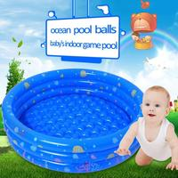 Baby Swimming Pool Kids Bathroom Swimming Pool Newborn Baby Shower Bathtub Portable Printing Inflatable Round Basin Fun Play