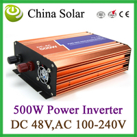 500W  Pure Sine Wave Power Inverter ,DC 48V ,AC 220V soar inverter
