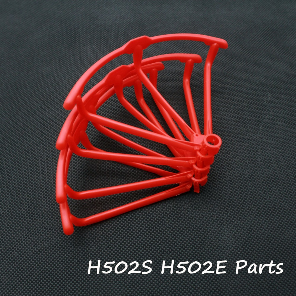 H107D+ 4pcs Red RC Drone Propellers Spare Parts for  H107P H107C