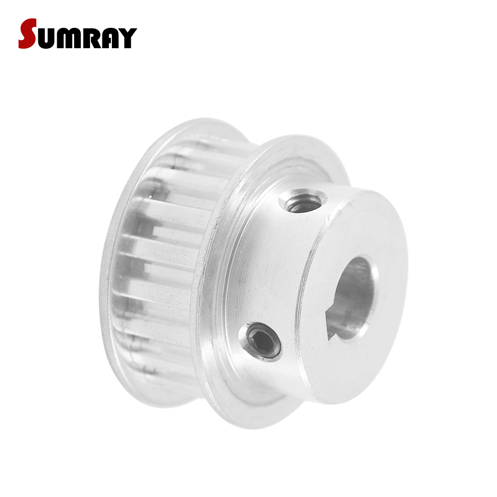 "5M HTD5M Timing Belt Pulley 24 Teeth 12.7mm 1//2/"" Bore 16mm width Stepper Motor"