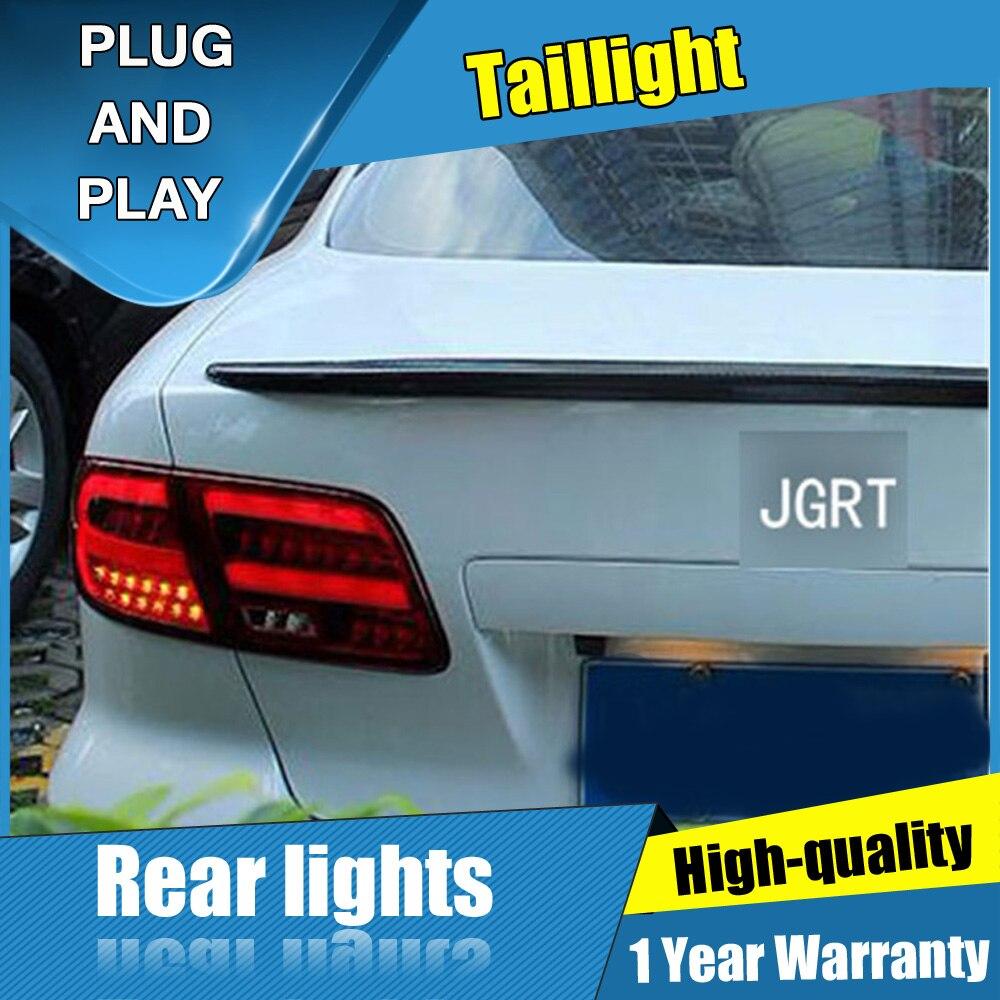 4PCS Car Styling for Mazda 6 Taillights 2005 2013 for Mazda 6 LED Tail Lamp+Turn Signal+Brake+Reverse LED light