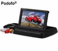 4 3 Inch Hot Sale Folding TFT LCD Monitor Car Rear View Color System W 2