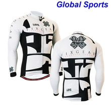 Men's Cycling Wear Cycling Jersey Top Quality Cycling Clothes Quick Dry Bike Bicycle Cycling Clothing for Men Black White