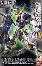 Bandai Gundam tam mekanik Gundam Barbatos Lupus Rex monte Model kitleri aksiyon figürleri plastik Model oyuncaklar