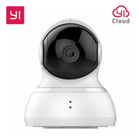 YI Dome 720P HD Camera 360 Complete Coverage Smart Home System Pan Tilt Control 8 Preset
