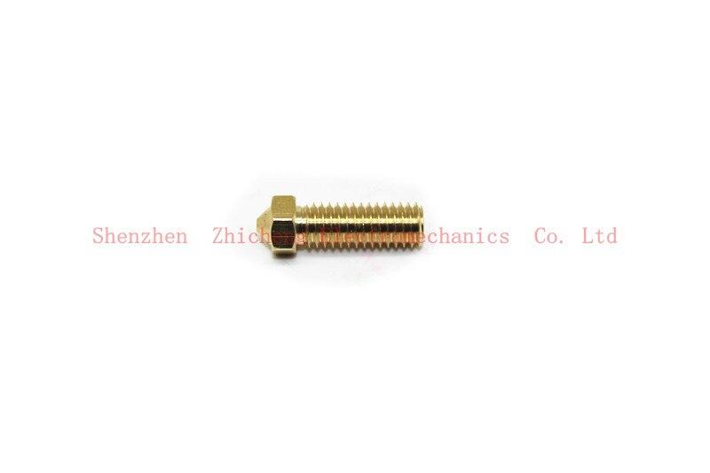 4 THINGS. New Vulcan 3D All metal brass Extend extruder nozzles 0.6 / 0.8 / 1.0 / 1.2 mm 1.75 / 3 mm цены онлайн