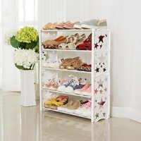 Простая многослойная комбинированная полка для обуви, короткая полка для хранения обуви, Современная полка для обуви
