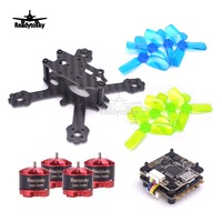 ELF 88mm Micro Quadcopter 1104 7500KV 2 3S Motor Flytower Mini F3 / F4 Flight control Integrated OSD 4 in 1 ESC 2030 Prop