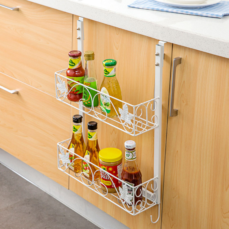 multifunctional wall mount racks side refrigerator rack, kitchen Side Wall Shelves