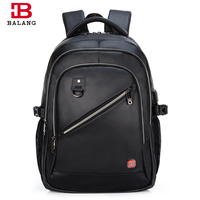 BALANG Business Men Laptop Backpacks 15 6 Inch Oxford College School Bags For Teenage High Quality