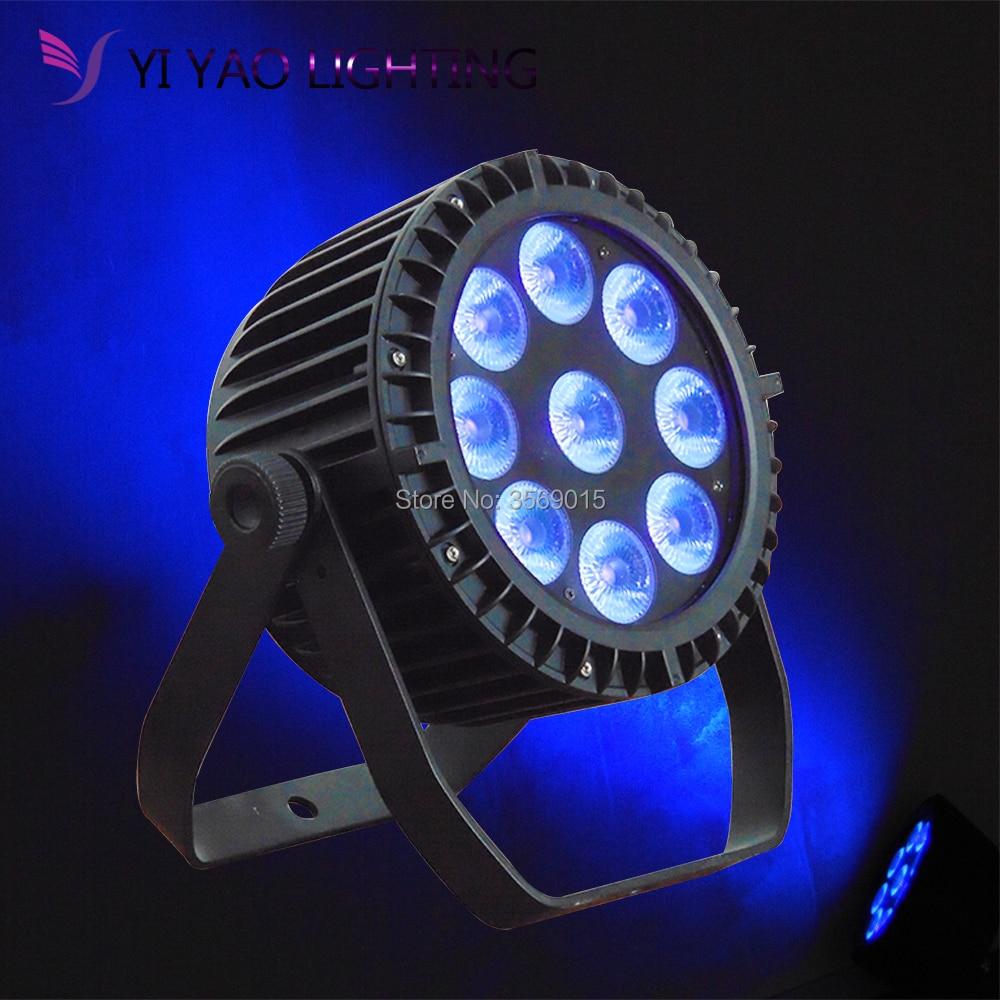 9X18W Led Par Lights Professional Stage DJ Equipment